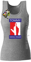 Tommy Middle Finger - Top damski melanż