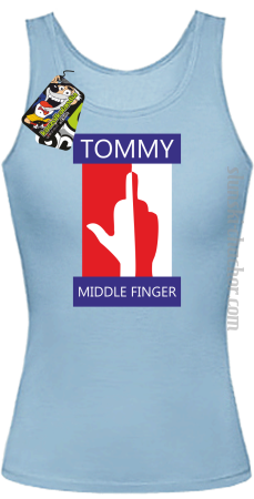 Tommy Middle Finger - Top damski