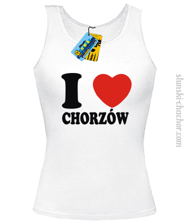 I love Chorzów - top damski