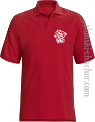 LORD Gym Stop wishing Start Doing - Koszulka męska POLO red