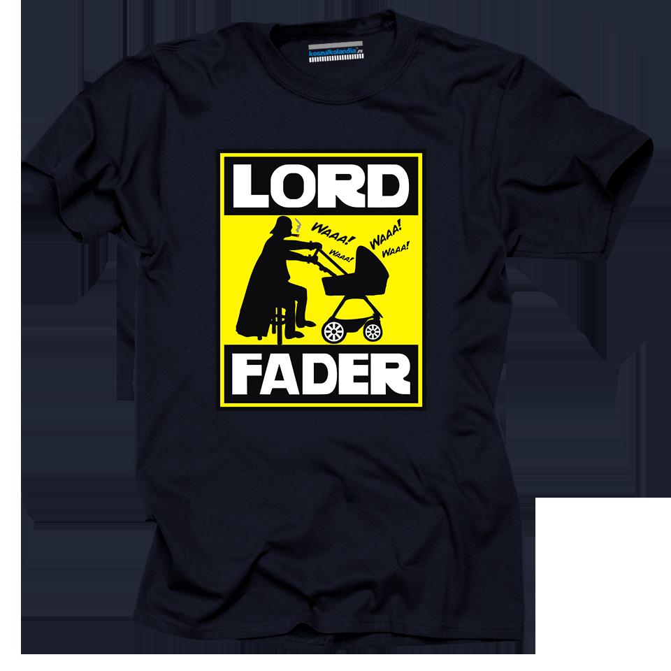 LORD FADER - koszulka męska z nadrukiem